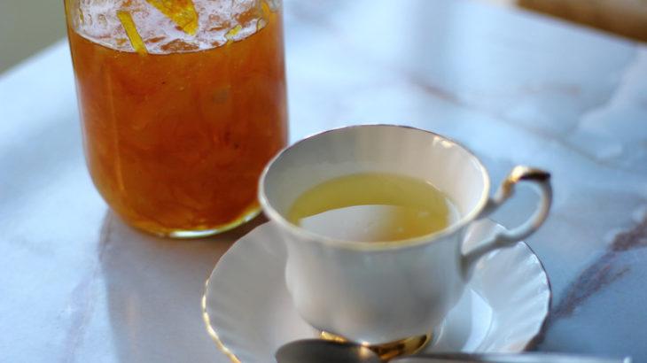 名人レシピ・内藤さんのおいしいゆず茶。伝えるためのレシピ企画