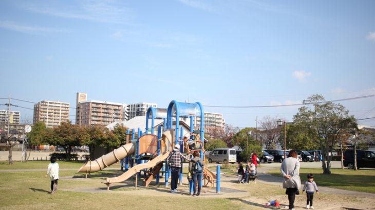 中津・豊陽公園でパパママと遊ぼう!園内の様子と注意点